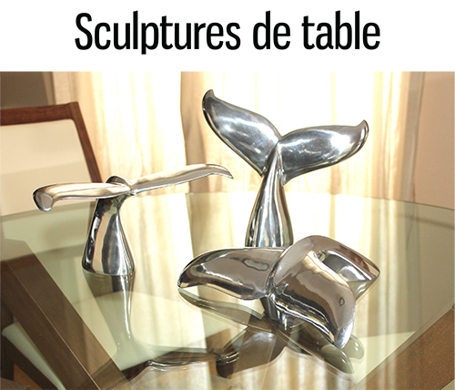 fiche sculpture de table